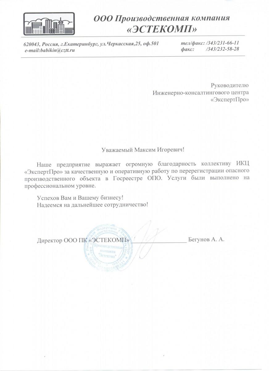 Директор Бегунов А. А.