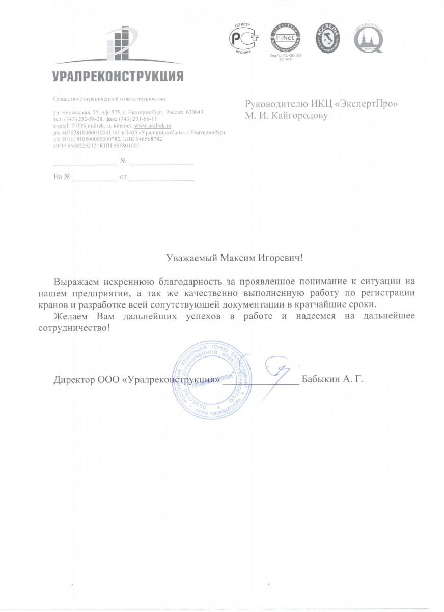 Директор Бабыкин А.Г.